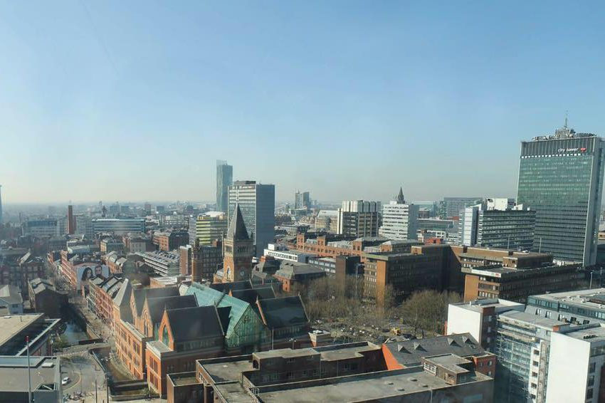 Properties Manchester city view